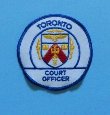 Toronto Court Officer Patch