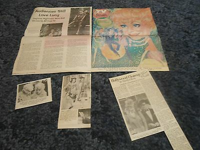 Lucille Ball   clippings #H84