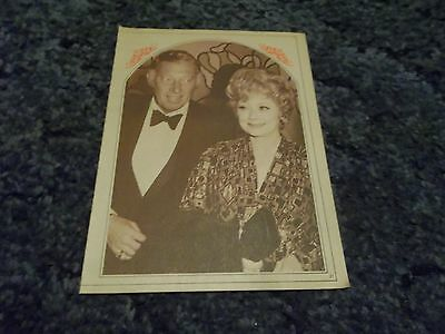 Old Lucille Ball clipping #837
