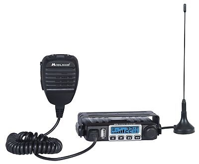 Midland Consumer Radio MXT115 Micro Mobile 15W Gmrs Radio with Weather 8 Repe...