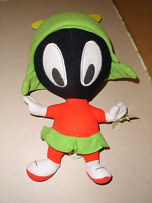 "Baby Looney Tunes Plush Stuffed MARVIN the MARTIAN  12"" tags"