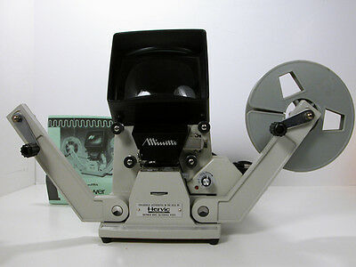 Professional Minette SUPER 8 VIEWER W/ Rare Sound Head  Top Of the Line!