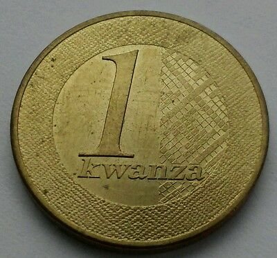 Angola 1 Kwanza 2012. One Dollar coin. New Issue
