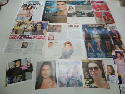 Brooke Shields big lot of   clippings  #BZ10