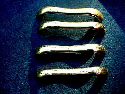 4 Top Quality Heavy Vintage Solid Brass Household Drawer Cabinet Handles Pulls