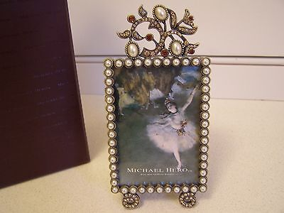 Michael Hero Victorian Lace Picture Frame, New in box