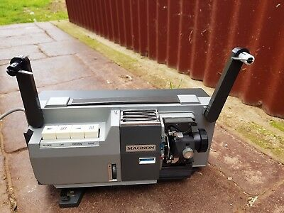 VINTAGE MOVIE PROJECTOR MAGNON 800 INSTDUAL ZR FULLY AUTOMATIC  BOXED made JAPAN