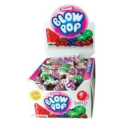 Charms Blow Pops - You Choose Amount - Candy Lollipops Party Favors Goody Bags
