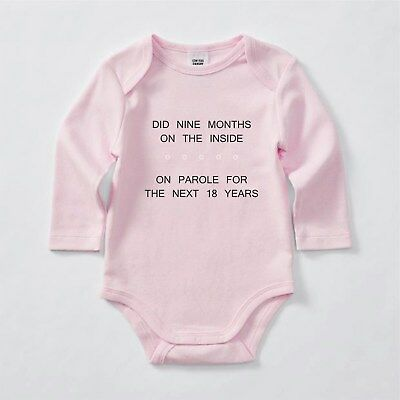Did 9 Months on the Inside, Bodysuit, Romper, Baby clothes