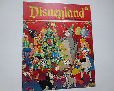 Disneyland- Magazine for Beginning Readers- Fawcett Publications- #45 1972