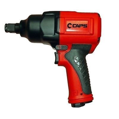 "3/4"" Drive Air Impact Wrench Gun, 1,050 ft-lbs, High Torque Speed: CAPS C21101"