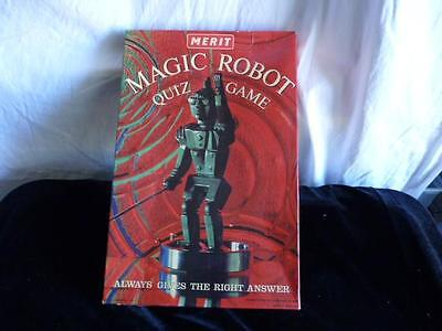 50's The Amazing Magic Robot Merit Toy Quiz #6228 Game Always Gives Right Answer