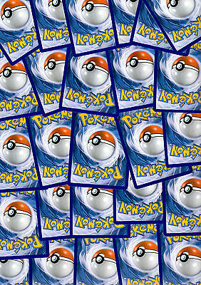 500 Bulk Pokemon Cards From Various Sets XY Onwards Sun and Moon