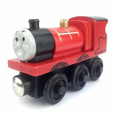 james Thomas & Friends Wooden Magnetic Tank Engine Railway baby trains ffff