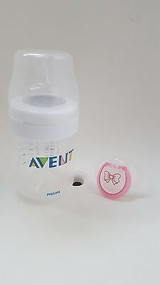 KIT Biberon Philips AVENT + Ciuccio Tommee Tippee Closer to Nature