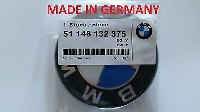 BMW Front Hood Or Rear Trunk 82MM Emblem Logo Badge Symbol Roundel Series