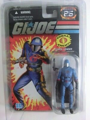 Gi Joe Action Force 25Th Cobra Leader Action Figur Mosc Neu Ovp Hasbro