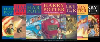 Harry Potter complete (1-7) audiobook CD ROM DVD + cursed child Fantastic Beasts