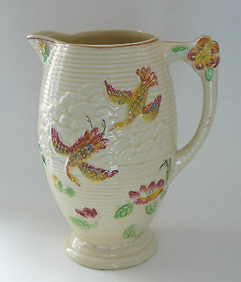 Vintage Price Brothers Jug - Hand-painted relief decoration