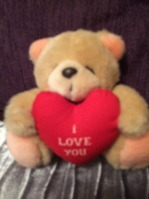 Andrew Brownsword Forever Friends Bear With A Heart