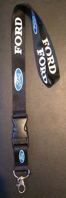 Brand New Ford Keychain Lanyard Keyring For Keys ID Holder Phone Escort Mondeo