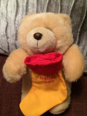 Forever Friends Bear With Special Wish Stocking
