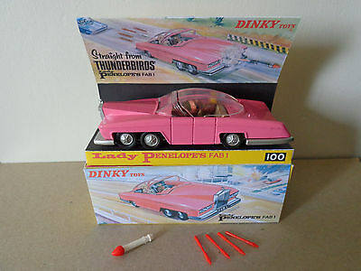 Dinky Toys 100 Lady Penelopes Penelope FAB 1 Thunderbirds Parker Gerry Anderson