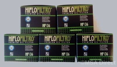 2x HF136 HiFlo Oil Filter Suzuki Motorcycle DR250 SE-P R S T V Off Road 93-99