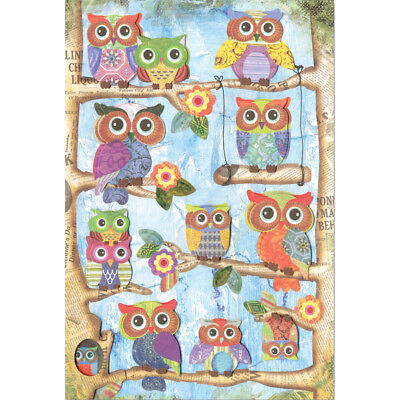 Multicraft Boho Chic 3D Stickers Owl SS823-C