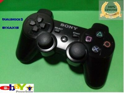 Genuine Official Sony PS3 DualShock 3 Sixaxis Wireless Controller