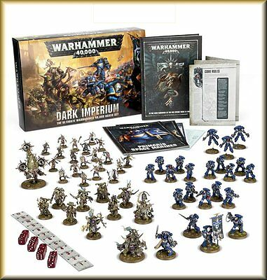 Warhammer 40K Dark Imperium Box set - New Sealed shipping 17 June 2017