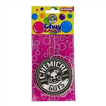 Chemical Guys Chuy Bubble Gum Flavour Scent Premium Hanging Air Freshener