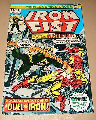 Iron Fist No. 1 - 1975 - First In New Series - Marvel Comics - 32 Pages
