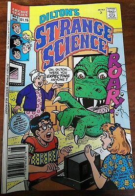 Archies Series #2 Aug 1989 Diltons Strange Science Comic Book