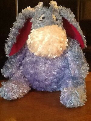 Super soft cuddly Large Eeyore : detachable tail with pink bow : Great buy -