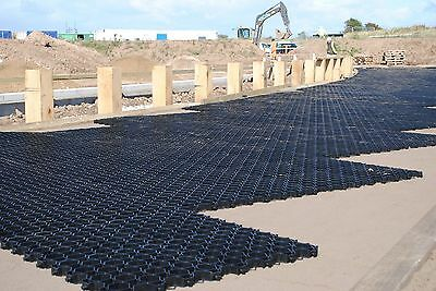 Driveway Parking Plastic Grids Grb System + Terram Weed Membrane Geotextile