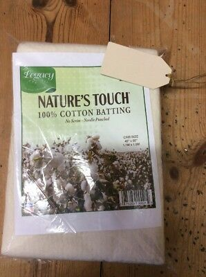 Legacy Natures Touch, 100% Cotton Batting