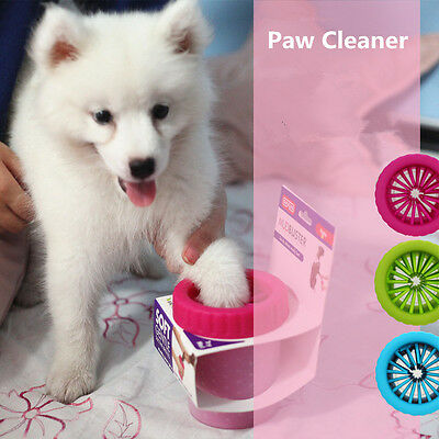 Paw Plunger Cleaner washer Mudbuster Portable Dog Paw Cleaner