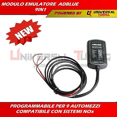 Emulatore Universale Adblue 9 In 1 Man-Scania-Iveco-Daf-Volvo-Renault-Mercedes