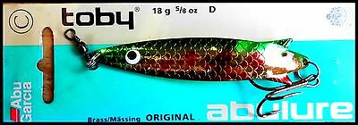 VINTAGE ABU GARCIA TOBY 9 cm, 18 g, D color (Taiwan made)