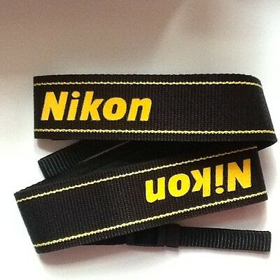 New Genuine NIkon AN-DC1 ANDC1 neck shoulder strap D series