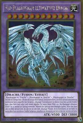 Neo-Blauäugiger ultimativer Drache - MVP1-DEG01 - Gold Rare DE NM