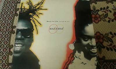 Soul II Soul , Back To Life, Ten Records Label