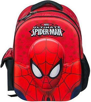 The Amazing 3D Ultimate Spiderman Backpack with pocket