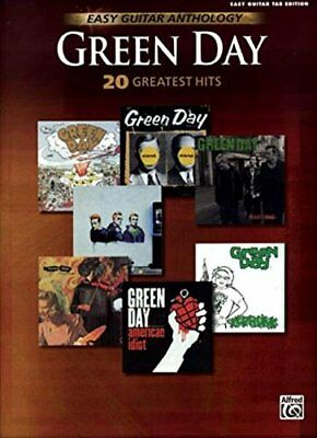Green Day -- Easy Guitar Anthology: 20 Greatest Hits