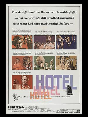 """Hotel 16"""" x 12"""" Reproduction Movie Poster Photograph"""