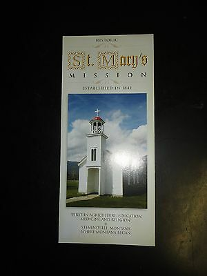 Stevensville's Historic St. Mary's Mission Guide from 2005