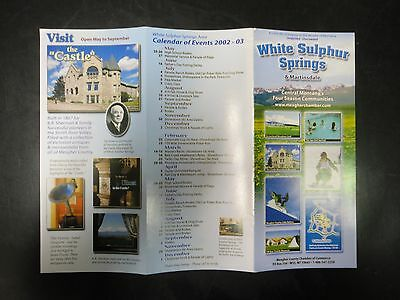 White Sulphur Springs & Martinsdale Guide from 2002