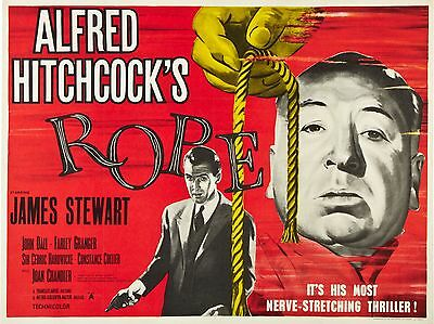 """Rope 16"""" x 12"""" Reproduction Movie Poster Photograph"""