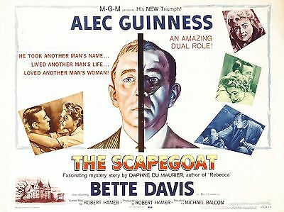 """Scapegoat 16"""" x 12"""" Repro Movie Poster Photograph"""
